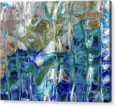 Acrylic Print featuring the photograph Liquid Abstract #0061 by Barbara Tristan