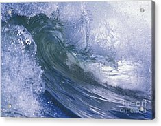 Liquid Crystal Acrylic Print by Stan and Anne Foster