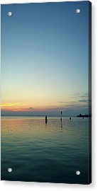 Acrylic Print featuring the photograph Liquid Sunset by Anne Kotan