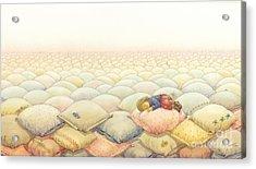 Lisas Journey03 Acrylic Print by Kestutis Kasparavicius