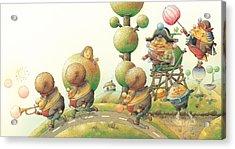 Lisas Journey05 Acrylic Print by Kestutis Kasparavicius