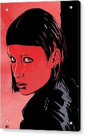 Lisbeth Salander Mara Rooney Acrylic Print