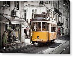 Lisboa Tram I Acrylic Print