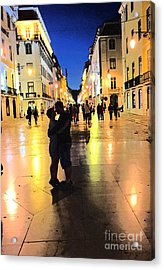 Lisbon Love Acrylic Print