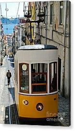 Lisbon - Portugal - Elevador Da Bica Acrylic Print