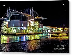 Lisbon - Portugal - Oceanarium At Night Acrylic Print