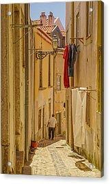 Lisbon Street # 1 Acrylic Print