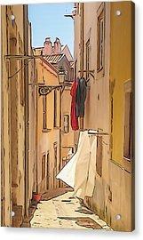 Lisbon Street #2 Acrylic Print
