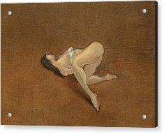 Lissome Acrylic Print by Antonio Ortiz