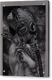 Listen 12 Acrylic Print by Brent Schreiber