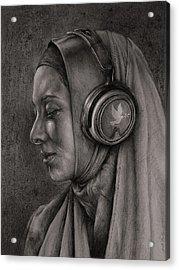 Listen 21 Acrylic Print