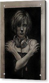 Listen 9  Acrylic Print by Brent Schreiber