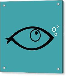 Little Fish In The Ocean Acrylic Print
