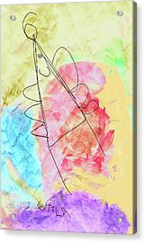 Littla - The Little Angel Acrylic Print