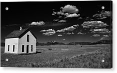 Little Abandoned House On The Prairie Acrylic Print