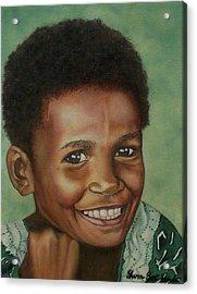 Little Alis Acrylic Print by Sharon Ebert