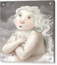 Little Angel Acrylic Print