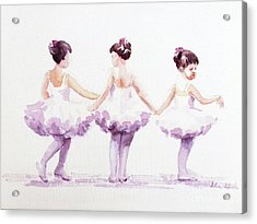 Little Ballerinas-3 Acrylic Print
