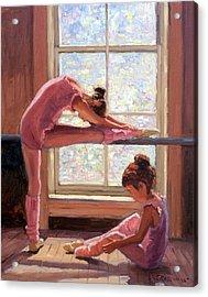 Little Ballerinas Acrylic Print