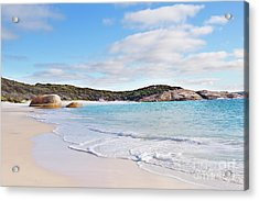 Acrylic Print featuring the photograph Little Beach, Australia by Ivy Ho