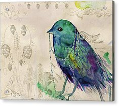 Little Bird Acrylic Print