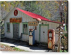 Little Bit O' Store Acrylic Print by Alan Lenk