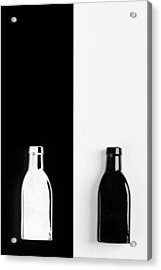 Acrylic Print featuring the photograph Little Black  Bottle by Andrey  Godyaykin