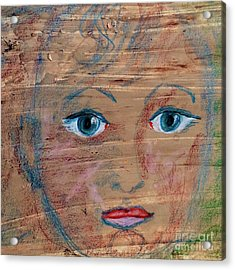 Little Boy Blue Acrylic Print