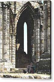 Little Boy Under The Arch Acrylic Print