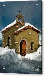Little Brown Church Acrylic Print