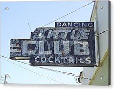 Little Club Cocktails Acrylic Print