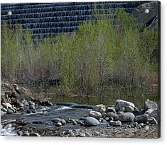 Little Dam Acrylic Print by Ivete Basso Photography