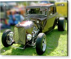 Little Deuce Coupe In Root Beer Brown Acrylic Print