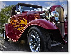Little Deuce Coupe Acrylic Print by Skip Tribby