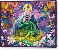 Little Dragon Acrylic Print by Jan Patrik Krasny