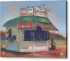 Little Drive-in On South Hawkins Ave Acrylic Print