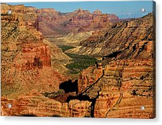 Little Grand Canyon Sunrise Acrylic Print