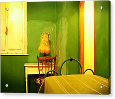 Little Green Room Acrylic Print