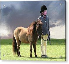Little Horseman Acrylic Print