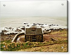Little House At The Nigg Bay. Acrylic Print