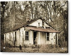Little House From Yesteryear Acrylic Print by Andrew Crispi