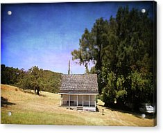 Little House Acrylic Print by Laurie Search