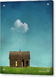 Acrylic Print featuring the photograph Little House Of Sorrow by Juli Scalzi