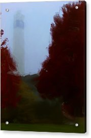 Little Joe In Morning Fog Acrylic Print