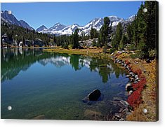 Little Lakes Valley 4 Acrylic Print