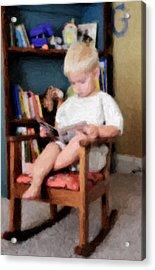 Little Learner Acrylic Print by Lyle  Huisken