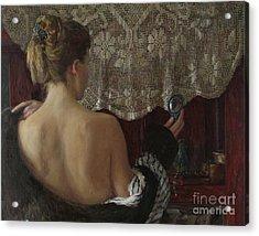 Little Mirror Acrylic Print by Korobkin Anatoly