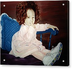 Little Miss Hassler Acrylic Print by Kevin Callahan
