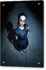 Little Miss Innocent Acrylic Print by Britta Glodde