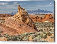 Little Monument In Valley Of Fire Acrylic Print